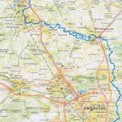 Topografische kaart Boxtel aan de Dommel